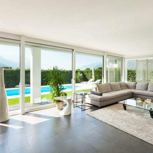 Modern,Villa,,Interior,,Beautiful,Living,Room